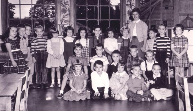 Linden Avenue Elementary School -- First Grade -- 9/55